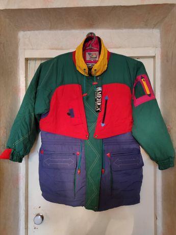 Продам супер винтажную лыжную куртку-парку из 90-х! 54 размера