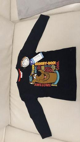 Bluzka Scooby Doo nowa 104 cm