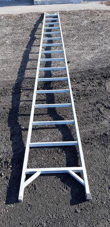 Лестница пластиковая приставная 5м