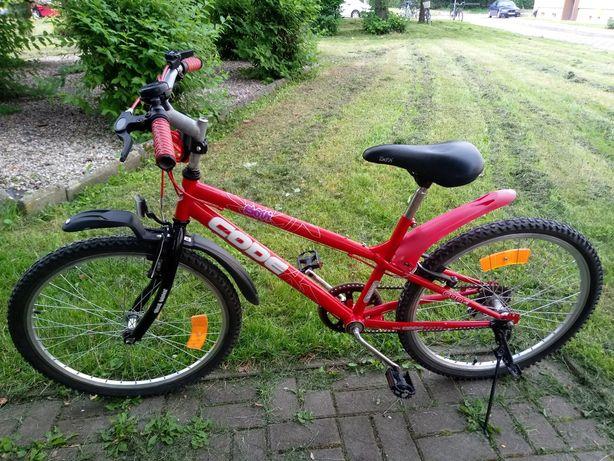 Rower dziecięcy + hulajnoga + kask