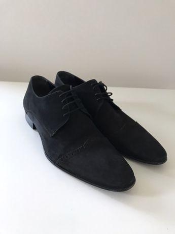 Туфлі FLN нубук Італія (туфли)