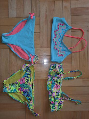H&M stroje kąpielowe dla dziewczynki 8-10 rozmiar 134/140