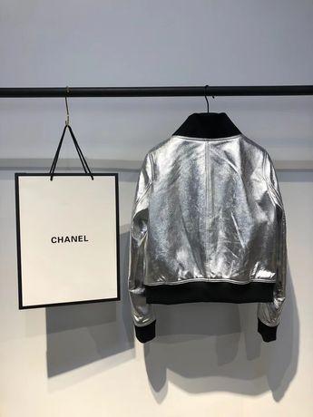 Курточка Chanel натуральная кожа