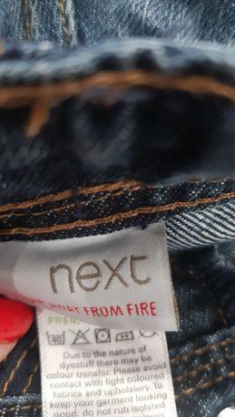 Шорты  NEXT 104 см 4-5 лет бриджи джинсовые