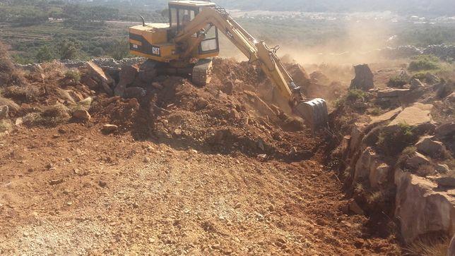 Limpeza de terrenos escavacoes