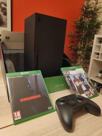 Xbox Series X + 3 jogos fisicos