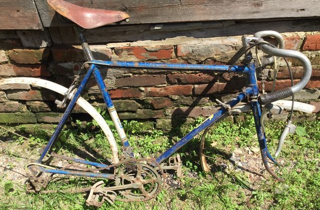 Рама с велосипеда  1984 года .