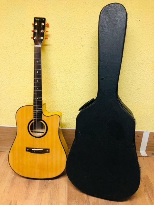 zawodowa perfekcyjna gitara SUNTI - elektroakustyk z futerałem wysyłka Witkowo - image 1