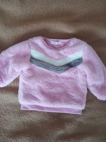 Nowe ubranka dla dziewczynki r. 74