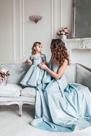 Фемели лук, family look, платье для девочки на год