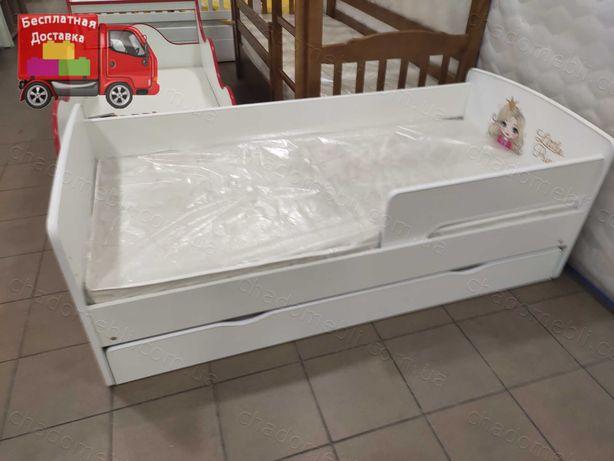 Детская Кровать/Кровать для Ребенка / Кроватка для Девочки Рассрочка