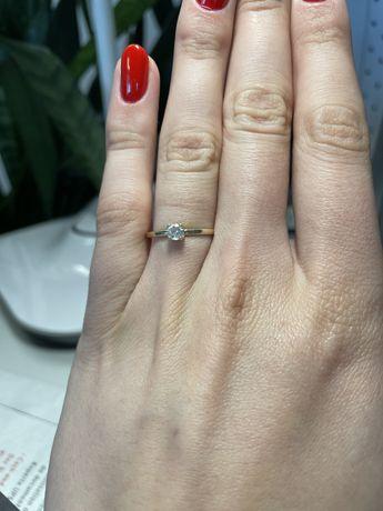 Piękny złoty pierścionek - 14