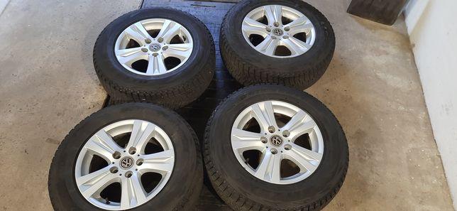 Продам комплект дисків BMW VW 5×122 з резиною Bridgestone 215/70 R16