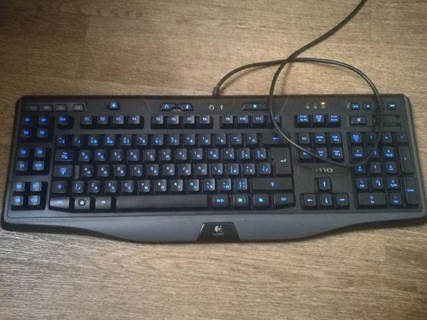 Logitech g110 || поставка для запястья || руки программируемые клави
