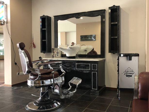 Fábrica Mobiliario de cabeleireiro barbeiro