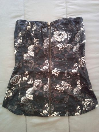 Top-corpete floral