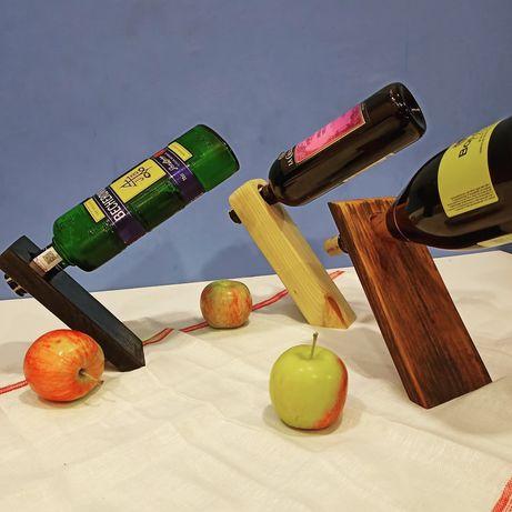 Подставка для бутылки деревянная