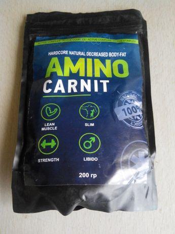 Активный комплекс для сжигания жира и роста мышц Amino Carnit, USA