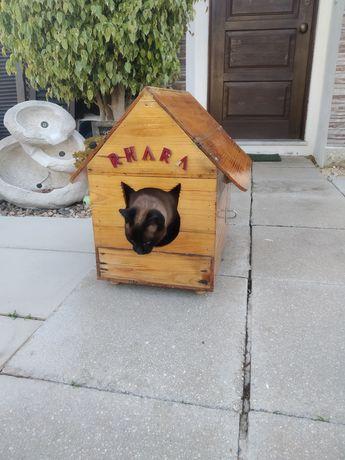 Casa abrigo para gato ou cão pequeno
