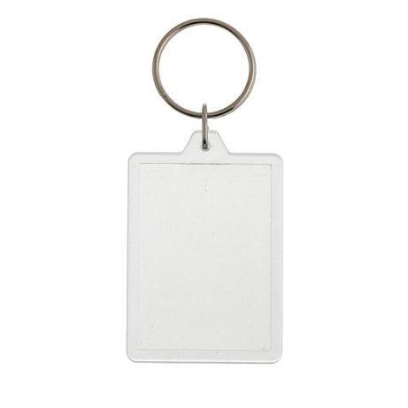 Porta chaves em acrilico rectangular