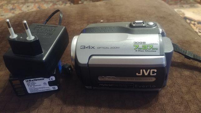 KAMERA JVC GZ-MG130E 30GB Kamerowid