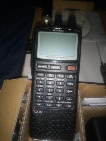 Rádio Scanner ICOM R20