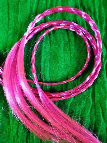 Афрорезинки (набор), резинки для волос с косичками, косы / гумки, коси