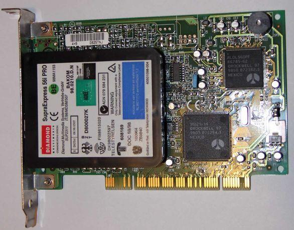 Modem PCI Supra Express 56 Kb