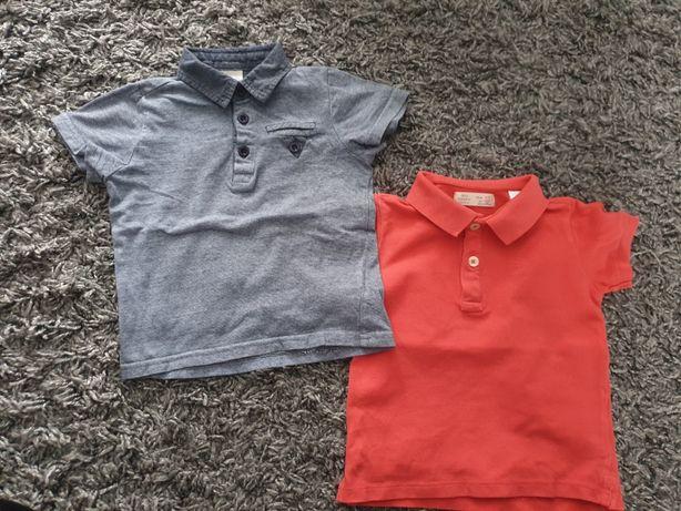 Zestaw koszulki polo z kołnierzykiem chłopięce rozmiar 98