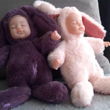Детская игрушка. Мягкая игрушка. Маленький зайка.