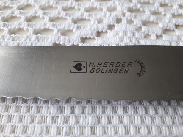 Stary nóż H.Herder Solingen rostfrei