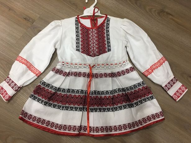 Вышитое платье, вышиванка