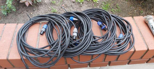 Przewody estradowe głośnikowe speacon 10m
