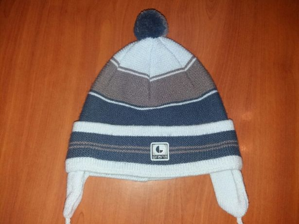 Демисезонные шапки для мальчика