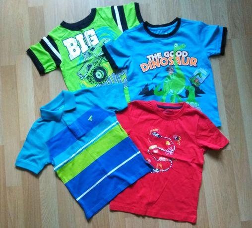 Футболки фирменные для мальчика, Wrangler, Lupilu, Disney