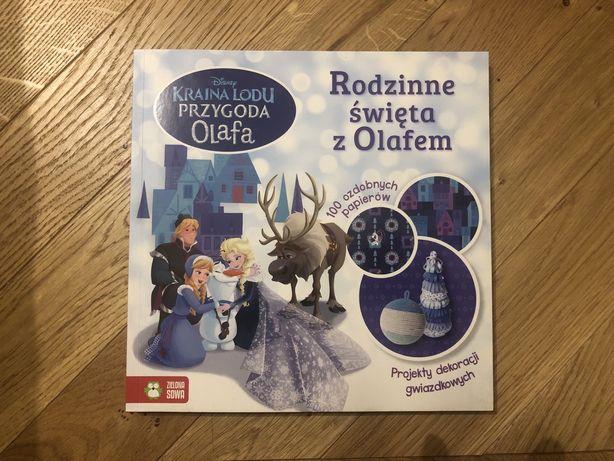 Rodzinne święta z Olafem/ Kraina Lodu/ Projekty dekoracji gwiazdkowych