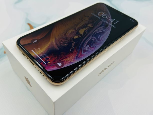 iPhone XS 64GB GOLD • GWAR 12 msc • DARMOWA wysyłka • FAKTURA