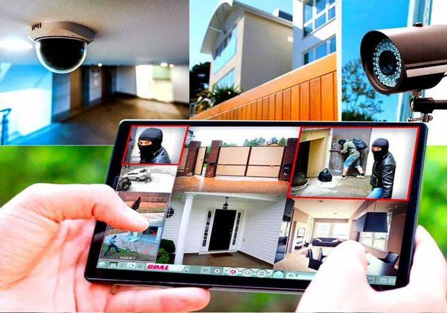 Видеонаблюдение установка/ремонт, Камеры Видеонаблюдения, Сигнализация