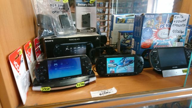 Sony Psp 1000, 2000,3000,.  Ps Vita .Игры, прошивка!