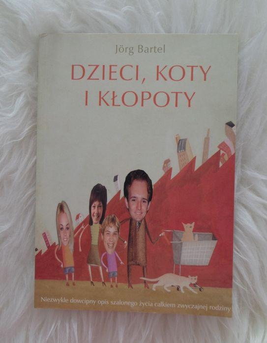 Dzieci koty i kłopoty książka Jorg Bartel Piława Górna - image 1