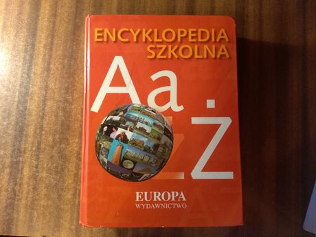 Encyklopedia Szkolna Wydawnictwo Europa