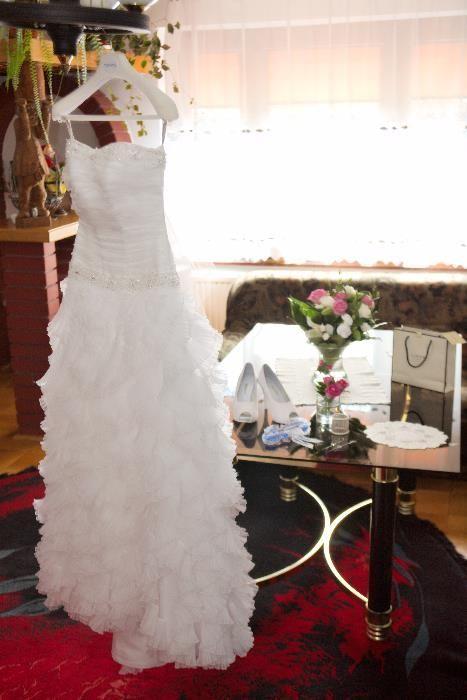 Suknia Ślubna Margarette Model Acanto rozmiar34 Trawniki - image 1