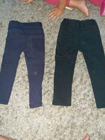 Spodnie getry dziewczece