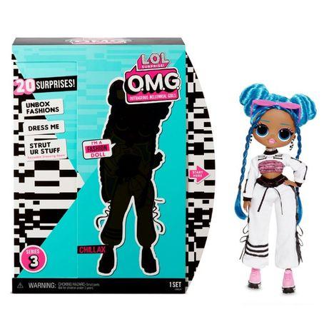 Кукла ЛОЛ L.O.L. Surprise O.M.G S3 Леди-релакс 570165 ОРИГИНАЛ