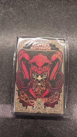 Player's notebook DnD