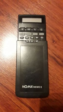 Databank Kalkulator Notes lata 90-te