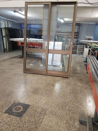 Portas e janelas  de alumínio várias medidas com e s/ fechadura vi