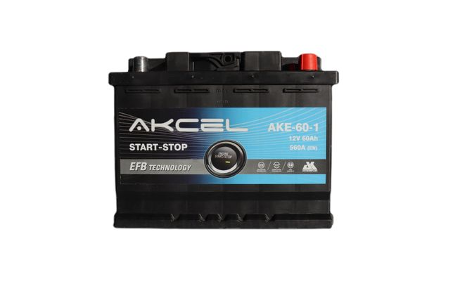 Akumulator Start - Stop EFB 60Ah 560A Akcel