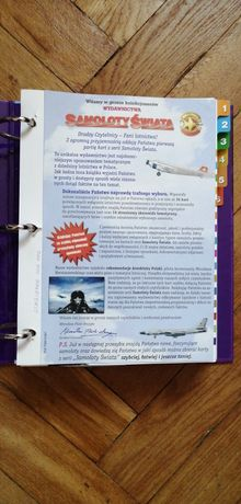 Samoloty świata 2 segregatory