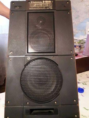 Колонки Radiotehnika S-50B  2 шт.